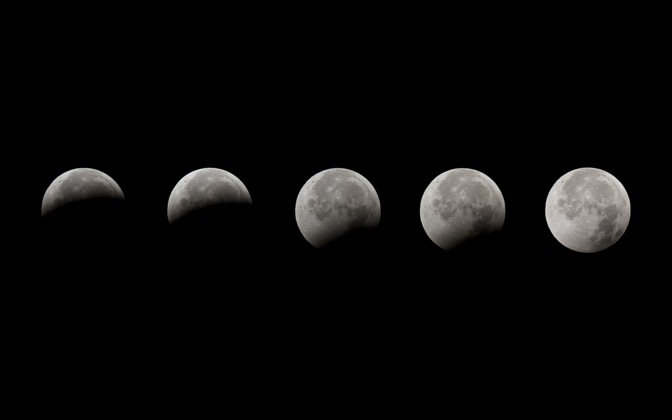 High-resolution desktop wallpaper Lunar Eclipse by chickenwire