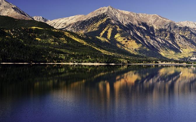 High-resolution desktop wallpaper Twin Lakes Colorado by dlbdata