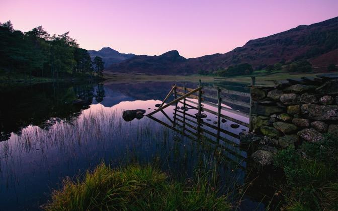 High-resolution desktop wallpaper Cumbrian Twilight by Parki