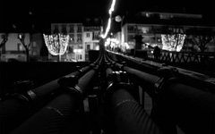 High-resolution desktop wallpaper Passerelle sur le Rhône by balzruk