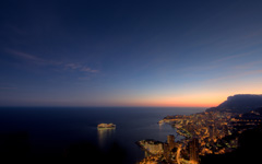High-resolution desktop wallpaper Good Night, Monaco by Crevisio