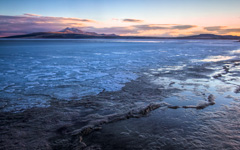 High-resolution desktop wallpaper Antelope Island by SinaiB