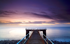 High-resolution desktop wallpaper Old Pier by MasterChief