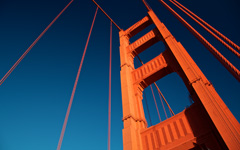 High-resolution desktop wallpaper Golden Gate Tower by Jestrella