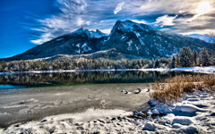High-resolution desktop wallpaper Perfect Winter Landscape by m1cha