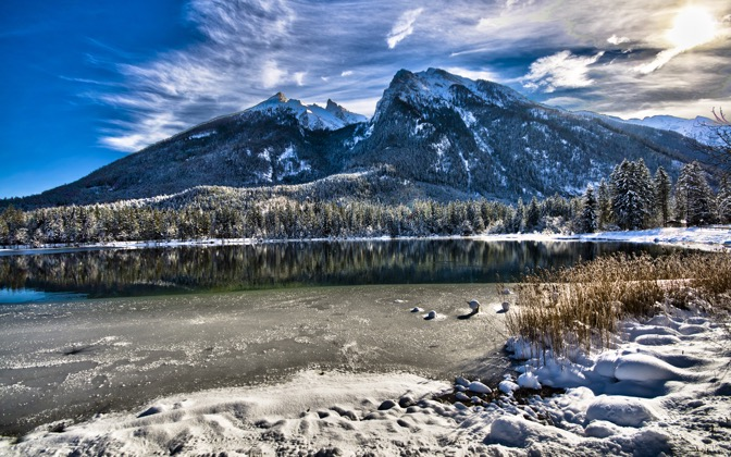 High-resolution desktop wallpaper Perfect Winter Landscape by m1cha