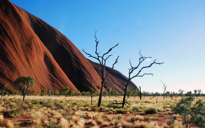 High-resolution desktop wallpaper Uluru-Ayers Rock by yangdu1001