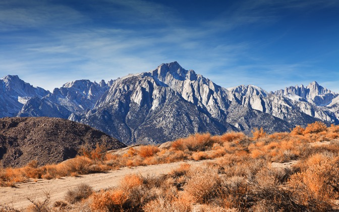 High-resolution desktop wallpaper Mt. Whitney by oddurs