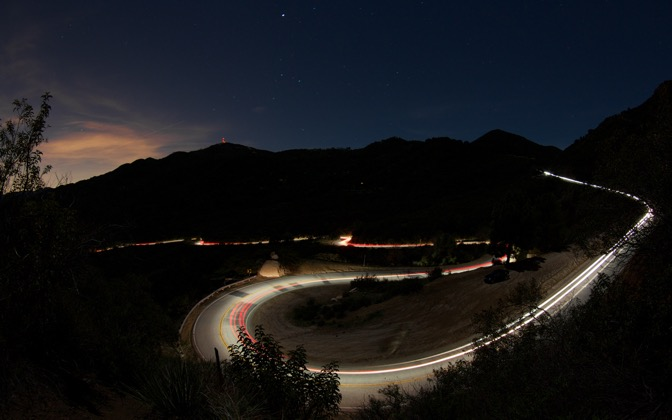 High-resolution desktop wallpaper Mulholland Canyon, Malibu California by bmxcamel