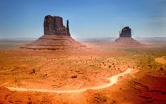 High-resolution desktop wallpaper Monument Valley by emitea