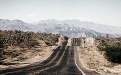High-resolution desktop wallpaper Desert Road by Hypo86