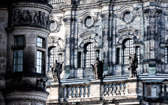 High-resolution desktop wallpaper Hofkirche (Dresden) by dhfotos