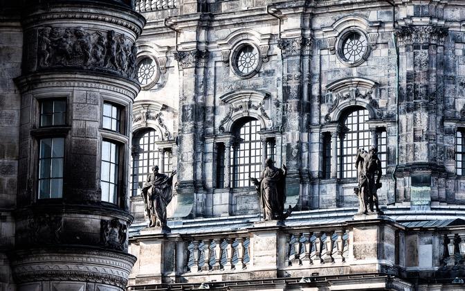 High-resolution desktop wallpaper Hofkirche (Dresden) by dhfotos