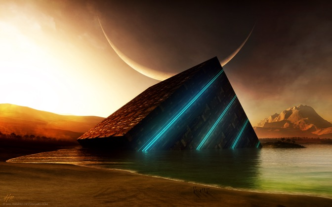 High-resolution desktop wallpaper The Cube by hameed