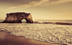 High-resolution desktop wallpaper Natural Bridges by colindub.com