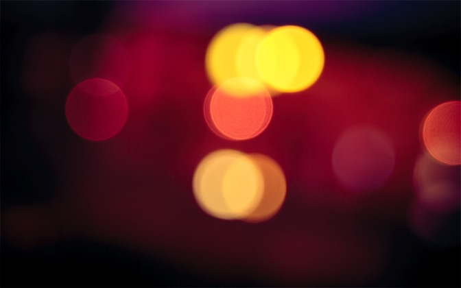 High-resolution desktop wallpaper Red Light Blur by noki07