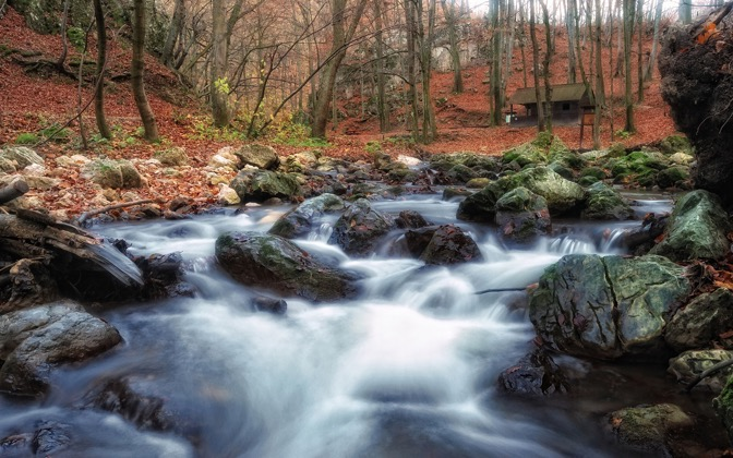 High-resolution desktop wallpaper Cuha Brook by Mark Borbely