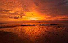 High-resolution desktop wallpaper Andaman Sunset by denjohan