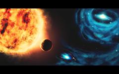 High-resolution desktop wallpaper The Cosmos by fullcirclegfx