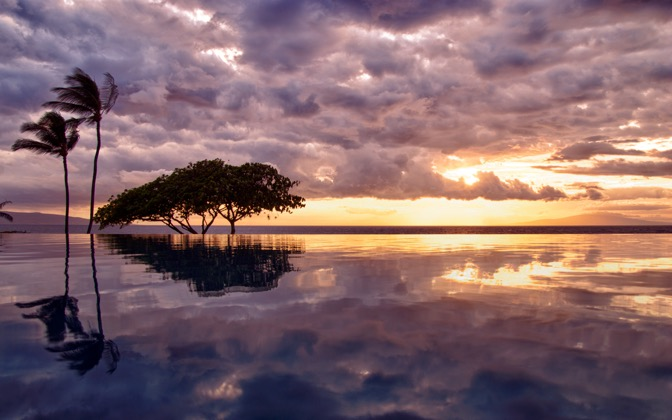 High-resolution desktop wallpaper Reflections in Paradise by cgrphoto33