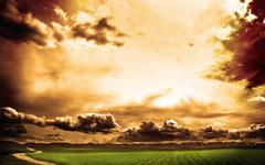 High-resolution desktop wallpaper Burning Sky by salar