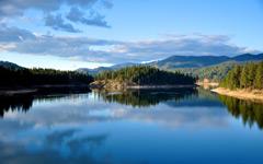 High-resolution desktop wallpaper Blue Lake by michael