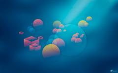 High-resolution desktop wallpaper Color Fizz by proov