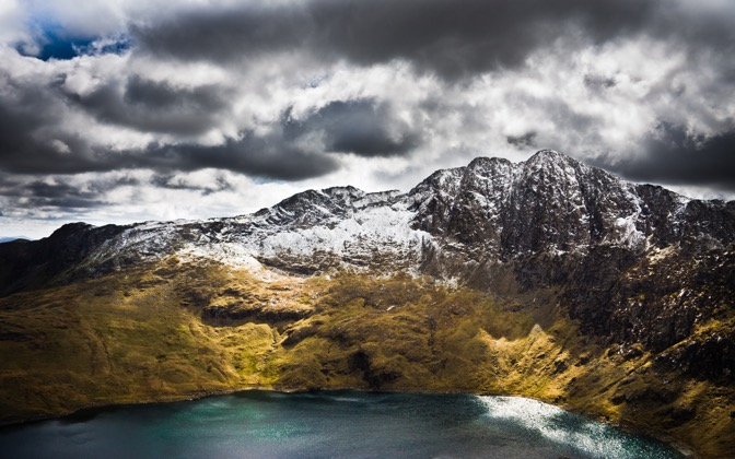 High-resolution desktop wallpaper Snowdon by AndrewBriggs
