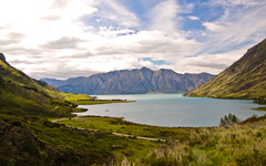High-resolution desktop wallpaper Lake Hawea by jonenz