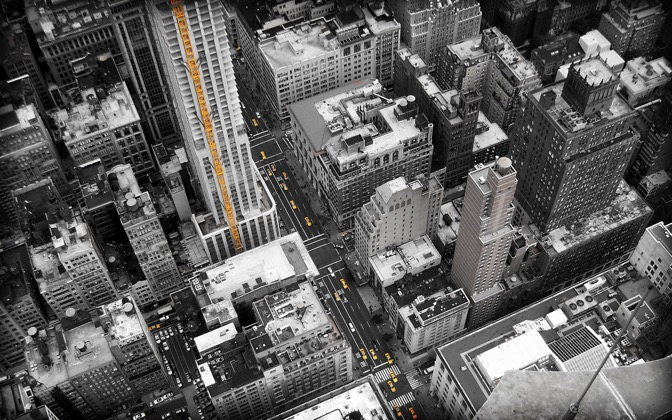 High-resolution desktop wallpaper Streets of New York by Feraz
