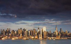 High-resolution desktop wallpaper Sunset in the Big City by dannyandaluzphotography