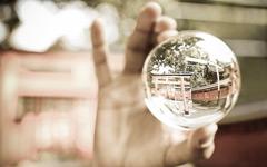 High-resolution desktop wallpaper Glass Ball... by Kymo