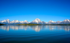 High-resolution desktop wallpaper Teton Reflection by bseymour