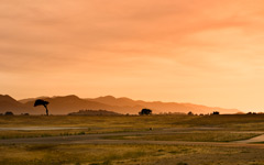 High-resolution desktop wallpaper Sunset at the Airport by Jonathan Mitchell