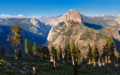 High-resolution desktop wallpaper Near Glacier Point... by v1rtu0so