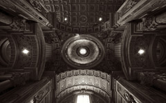 High-resolution desktop wallpaper Basilica Papale di San Pietro in Vaticano by chickenwire