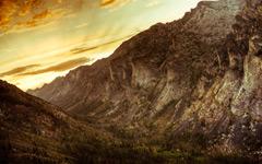 High-resolution desktop wallpaper Canyon Sunset by jacobfox