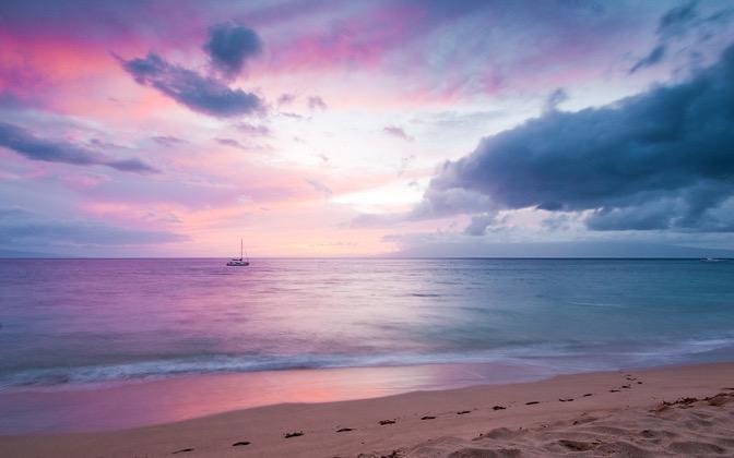High-resolution desktop wallpaper Blissful Paradise by Josh220