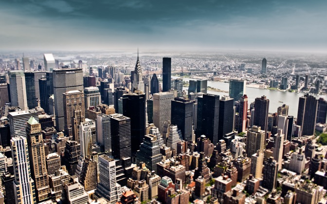High-resolution desktop wallpaper NY Sky by Andi Kulse