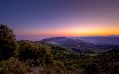 High-resolution desktop wallpaper Mont Agel by Crevisio