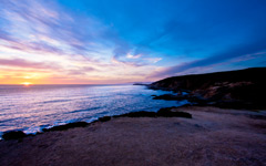 High-resolution desktop wallpaper Bodega Head Sunset by Jessica Carpenter