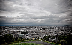High-resolution desktop wallpaper Cloudy Edinburgh by Farr0kh