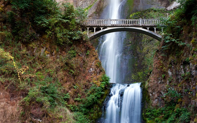 High-resolution desktop wallpaper Multnomah Falls by Persons0