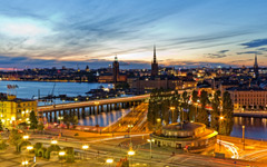 High-resolution desktop wallpaper Stockholm by Maximilian Winter