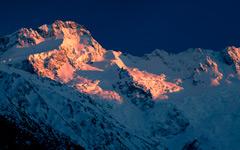 High-resolution desktop wallpaper Mount Sefton Genesis by jonpacker