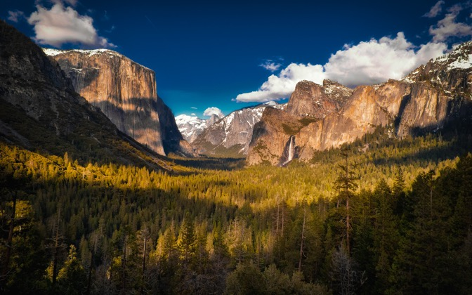 High-resolution desktop wallpaper Tunnel View by Matthew Arrington