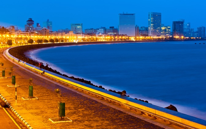 High-resolution desktop wallpaper Marine Drive by Anshul