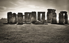 High-resolution desktop wallpaper Stonehenge by retaze