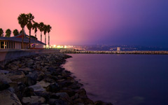 High-resolution desktop wallpaper L.A. Sunset by ruidiw
