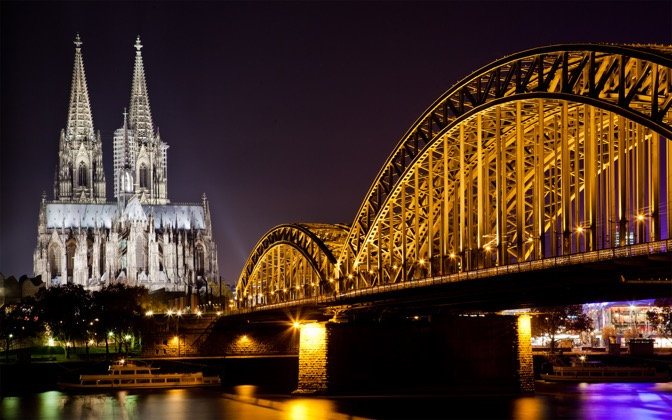 High-resolution desktop wallpaper Cologne Cathedral by uburoi